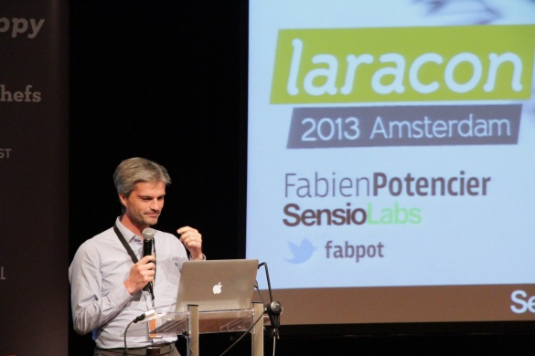 Fabien speaking